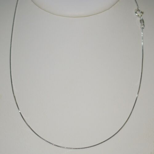 6 pcs Sterling Silver Box Chain NECKLACES /& 7 pieces Silver /& Gold Filled Beads