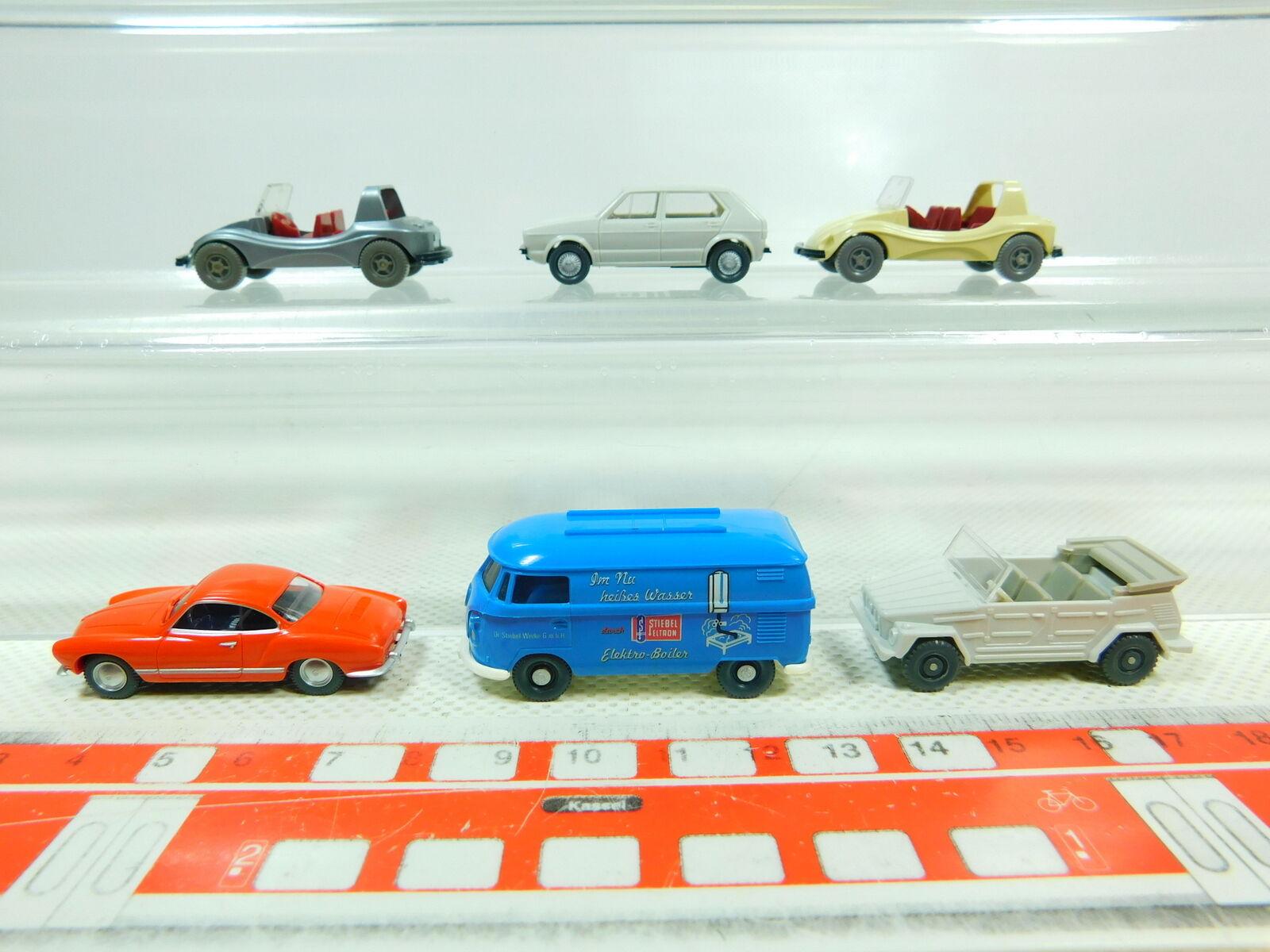 BT388-0, 5 x Wiking H0   1 87 Model VW   Stiebel Eltron +181 +1300 etc. , Mint