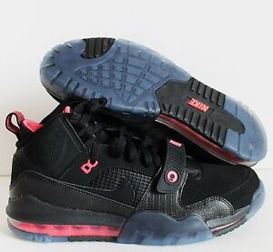 on sale 803f0 a5dc4 Image is loading NIKE-AIR-MAX-BO-JAX-Black-Hyper-Punch-