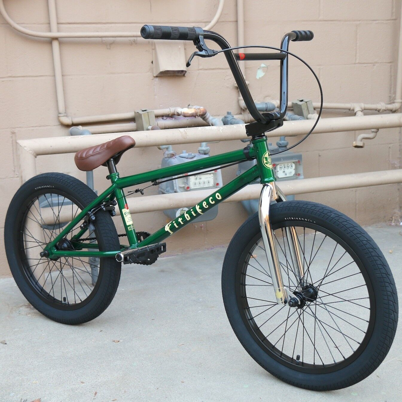 2019 FIT BIKE CO BMX HANGO 20  BICYCLE TRANS GREEN SUNDAY CULT PRIMO KINK HARO