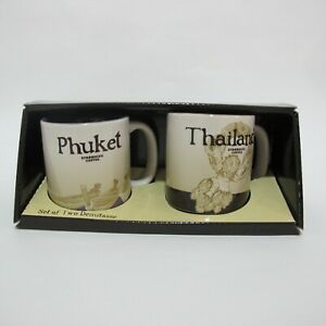 Starbucks 3 About OzDemi Mug Details Mugs City Phuket Set ThailandFree Tracking Cup TJ1lKc3uF