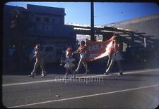 Chula Vista CA Tiny Majorette Girls Kids Parade Vintage 1950s Slide Photo