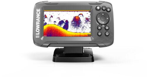 """Lowrance Hook2 4x GPS Bullet Portabel Set /""""M/"""" Echolot Fischfinder"""