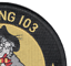 VF-103 Fighter Squadron F-14 Tomcat Patch