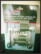 Sealey Vw Audi Diesel Motor Correa Dentada de bloqueo herramientas 1.2 1,4 1,9 2.0 TDI Pd