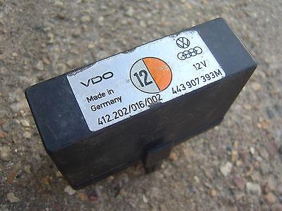 AUDI VW SEAT SKODA IDLE CONTROL RELAY NUMBER 12 443907393M 443 907 393 M