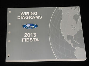 ford oem service manual 2013 ford fiesta wiring diagramsimage is loading ford oem service manual 2013 ford fiesta wiring