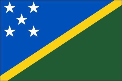 Sticker ** 5 Sizes ** Solomon Islands Flag Vinyl Decal
