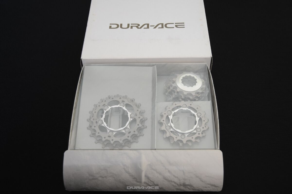 NEW Shimano DURA ACE, 9 speed cassette, TITANIUM, NIB