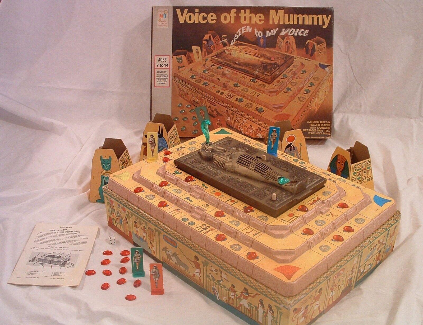 1971  Voice of the Mummy tavola gioco - rosso Precious Jewels - completare,Worre 100%  stanno facendo attività di sconto
