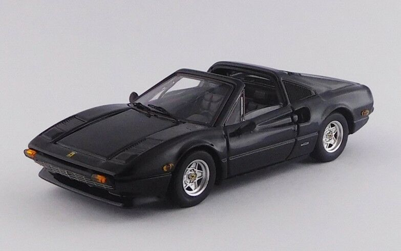 MODEL BEST 9712 - Ferrari 308 GTS cabriolet cabriolet cabriolet noir USA - 1979   1/43 | être Dans L'utilisation  | élégant  | Caracteristique  | De Gagner Une Grande Admiration  ef6c75