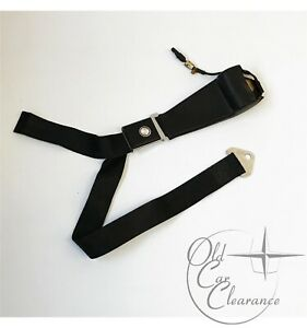 1966-Lincoln-Continental-Seat-Belt-Set-LF-Black-C6VY53611A73AAB