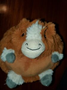 """SQUISHABLE 9"""" Limited Edition CLYDESDALE Stuffed Animal Plush RARE 2015"""