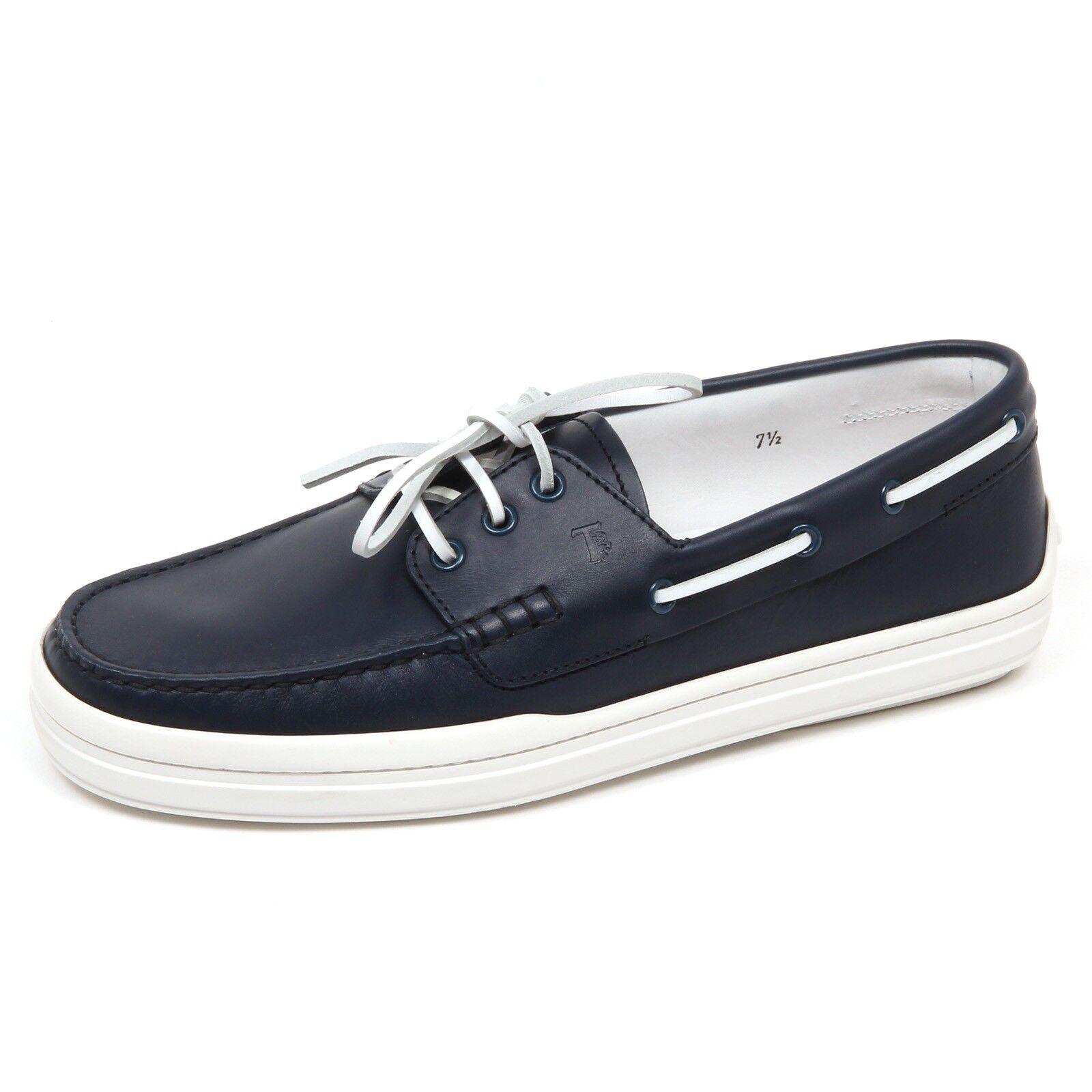 E3664 E3664 E3664 mocassino barca uomo blu TOD'S scarpe loafer shoe man 872c39