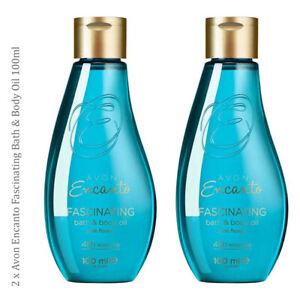 2-x-Avon-Encanto-Fascinating-Bath-amp-Body-Oil-vitamin-E-amp-Avocado-Bergamot