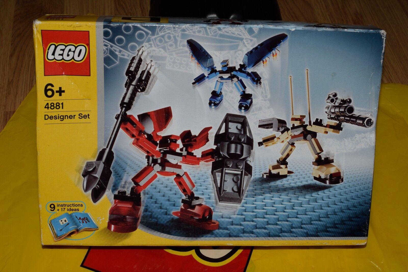 LEGO Creator Designer Set  Robo Platoon 4881 RARE RETIRED BRAND NEW ACTUAL PHOTO