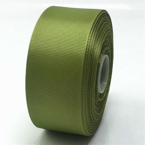 22 M//Roll Ribbed Trim Fabric Grosgrain Ribbon DIY Gift Wrapping 40mm Wide