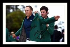 BUBBA WATSON & JORDAN SPIETH  AUTOGRAPHED SIGNED & FRAMED PP POSTER PHOTO
