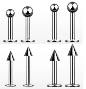 6mm-25mm-14g-16g-18g-Extra-Long-Labret-Cheek-Dimple-Helix-Monroe-Stud-Jewelry