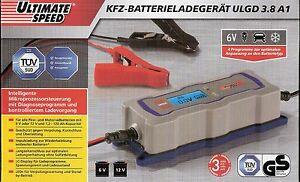 Ultimate speed voiture chargeur de batterie ulgd 3 8 a1 6 for Caricabatterie ultimate speed