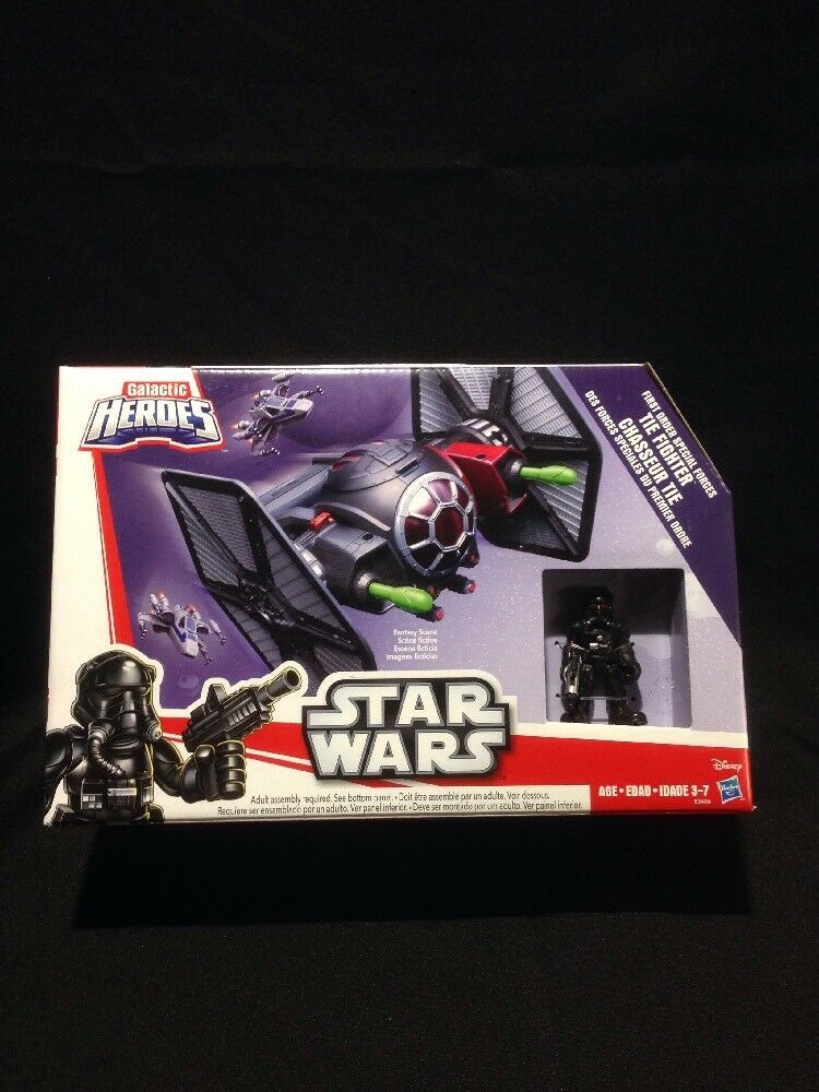 Galactic heroes star wars Tie Fighter (first Order Special Forces) Hasbro. NIB.