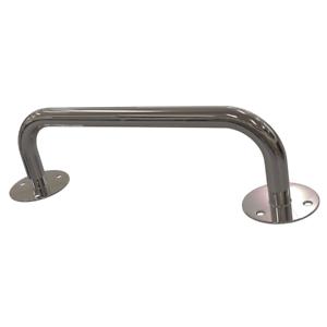 Gerader Handlauf für barrierefreies Bad 60 cm  aus rostfreiem Edelstahl 25 mm