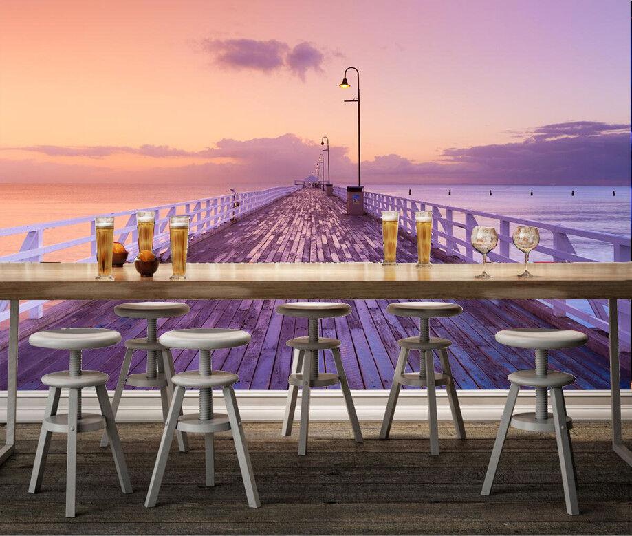 3D Himmel Küste Gehweg 8093 Tapete Wandgemälde Tapeten Bild Familie DE Lemon | Maßstab ist der Grundstein, Qualität ist Säulenbalken, Preis ist Leiter  | Qualitätskönigin  | Zuverlässiger Ruf