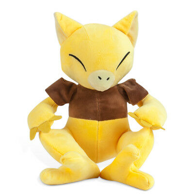 "Pokemon Center Abra Alakazam Soft Stuffed Doll Plush Toy 10/"" Xmas Gift US SHIP"