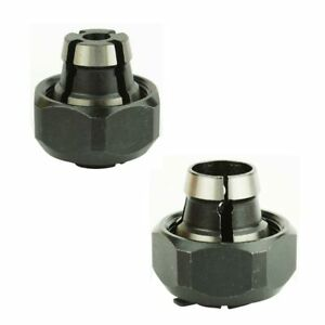 2-Pieces-Routeur-Collet-Kit-1-4-034-et-1-2-034-remplace-Porter-Cable-42999-42950