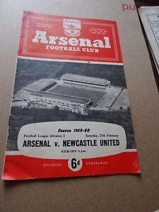 Arsenal-v-Newcastle-Div-1-Feb-27th-1960