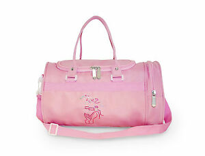 Image Is Loading S Small Holdall Dance Bag With Ballet Pointe