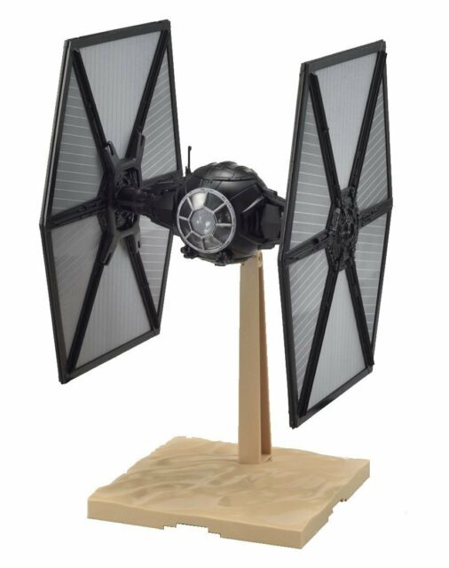 Bandai 1/72 First Order Tie Fighter Model Kit Star Wars Awakens The Force