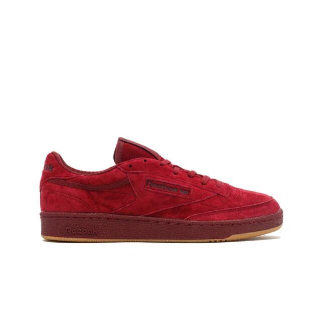 120f323e60 Reebok Men s Club C 85 TG Fashion Sneaker Red Size 8.0 Jly0 for sale ...
