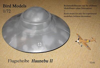 Haunebu II  deutsche Flugscheibe WW2   1/72 Bird Models Resinbausatz / resin kit