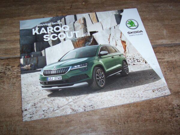 Beducht Catalogue / Brochure Skoda Karoq Scout 2018 //