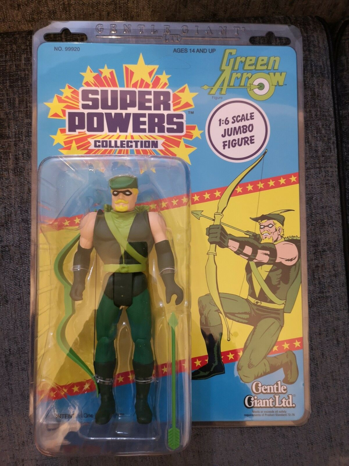 DC Super Powers Collection Jumbo Kenner 12  Action Figure Green Arrow