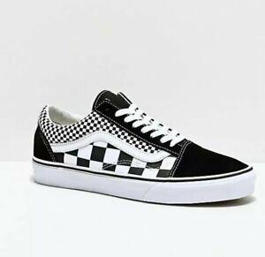 Vans Old Skool Mix Checker Black True