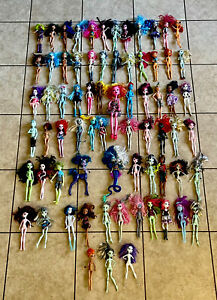 Monster-High-Dolls-Mattel-Huge-Large-Lot-Bundle-Toy-Collection-of-71-Used-As-Is