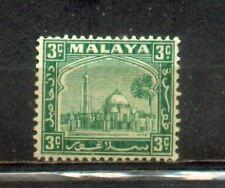 1935 Malaya Malaysia Selangor States Def 3c MH. CV Rm 30