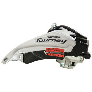 Shimano-Tourney-FD-TY510-6-7-8-Speed-Front-Derailleur-Clamp-on-Dual-pull-34-9mm