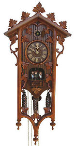 German-Cuckoo-Clock-Black-Forest-8-Day-Mechanical-1885-Replication-8TMT540-9