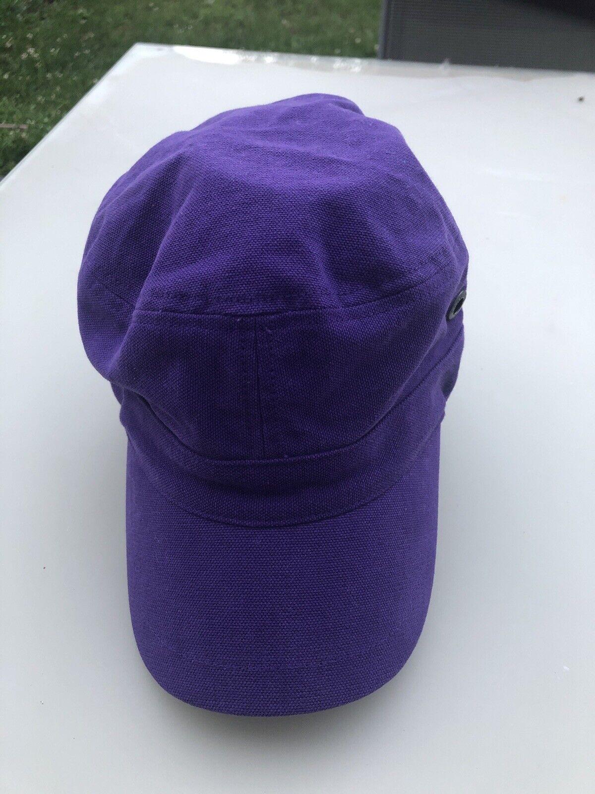 Converse Feldmütze Cap Kappe Lila/Violett Größe M Neu Mit Etikett Unisex