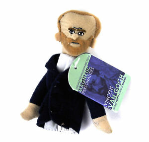 Vincent Van Gogh Finger Puppet & Fridge Magnet