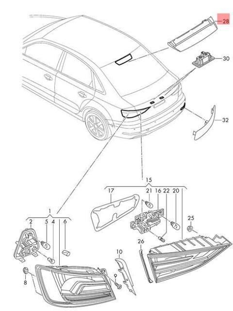 Audi A3 Brake