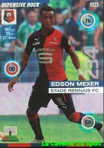 259-EDSON-MEXER-MOZAMBIQUE-STADE-RENNAIS-FC-DEFENSIVE-CARD-ADRENALYN-2016-PANINI