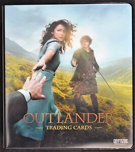 Cryptozoic-Outlander-Season-1-Binder-with-VARIANT-Trousers-M37-B1-Trading-Cards