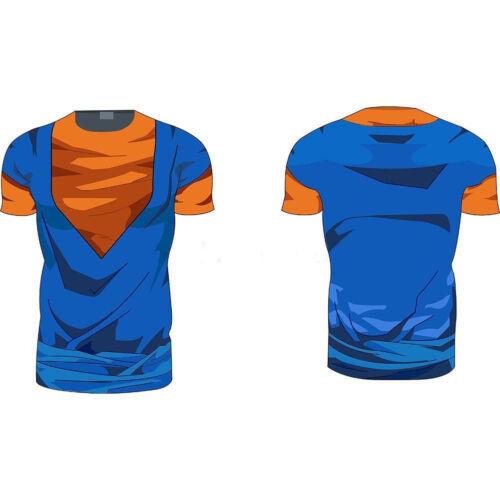 Long Sleeve Cartoon T-Shirt Casual Shirts Hot Men/'s Ball Z Short