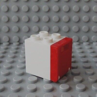 LEGO Red 2x2x2 Container with Red Door