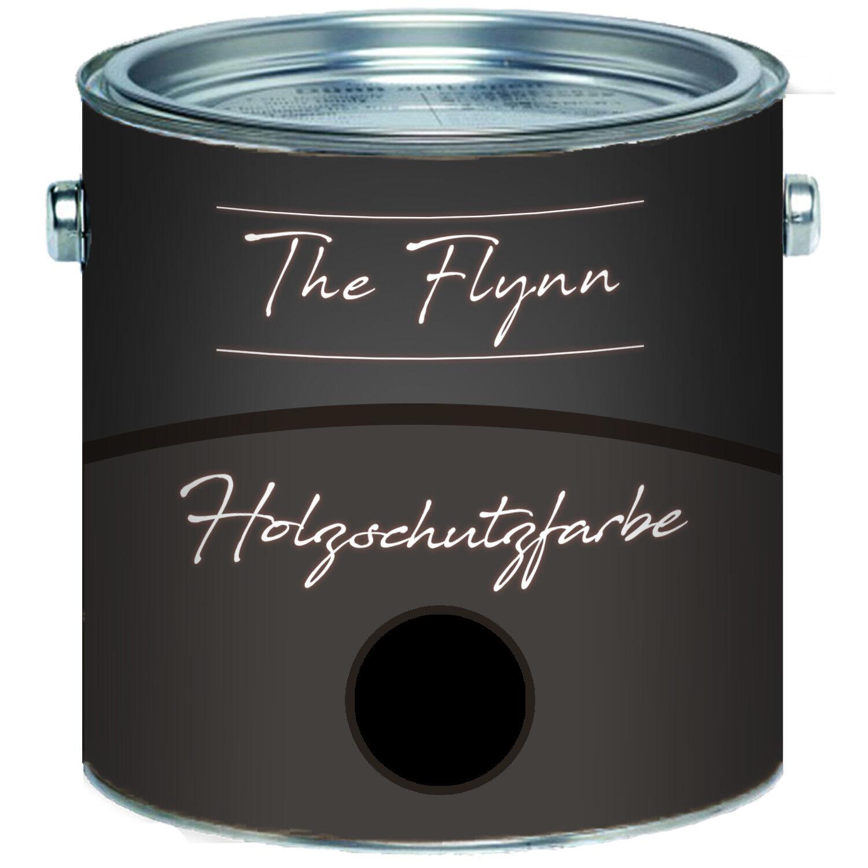 The Flynn Holzschutzfarbe Schwarz Wetterschutzfarbe Außen Innen