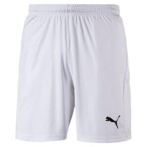 Details zu Puma Fußball Herren Liga Core Shorts mit Innenslip Männer kurze Hose weiß schwar